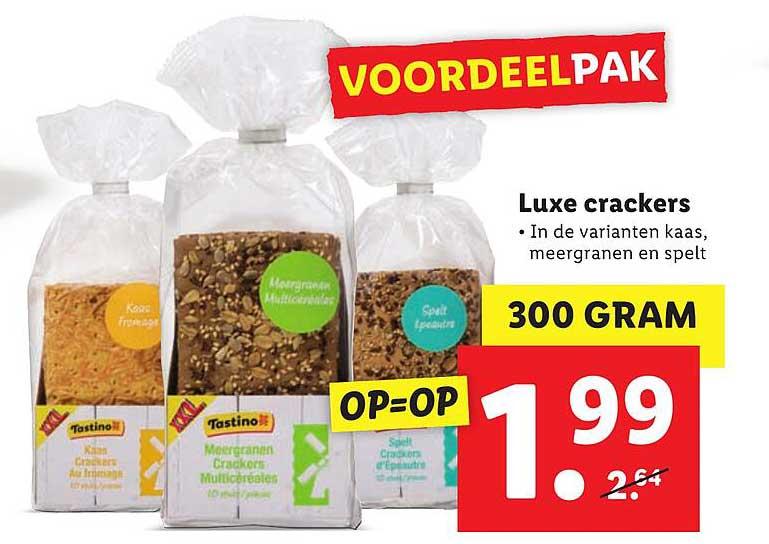 Lidl Luxe Crackers