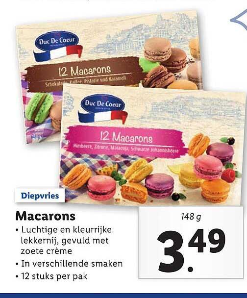 Lidl Macarons
