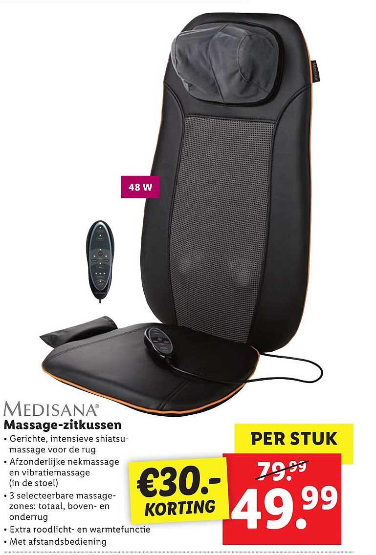 Lidl Medisana Massage-Zitkussen €30.- Korting