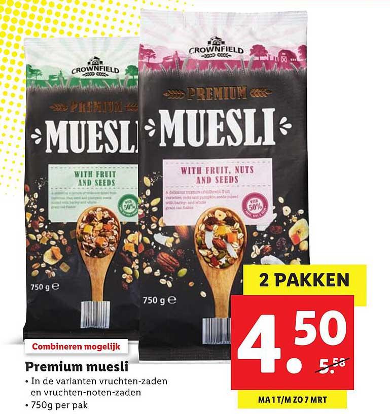 Lidl Premium Muesli