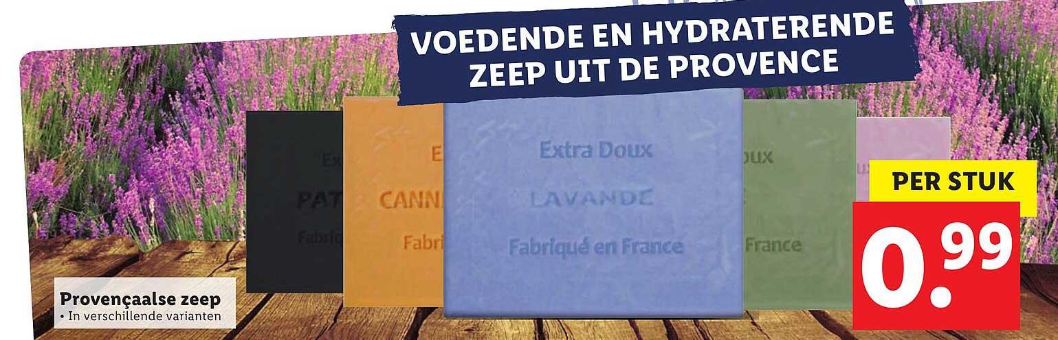 Lidl Provençaalse Zeep