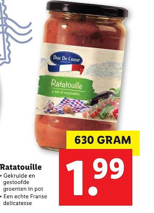 Lidl Ratatouille