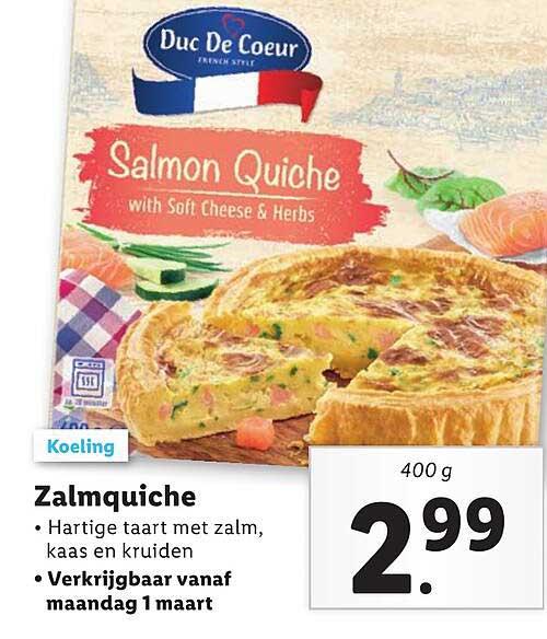 Lidl Zalmquiche