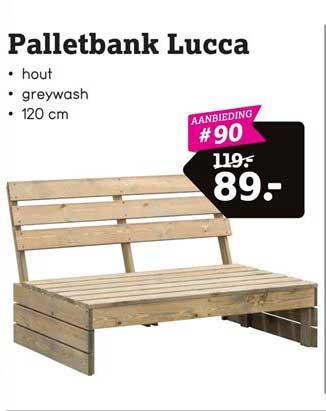 Leen Bakker Palletbank Lucca
