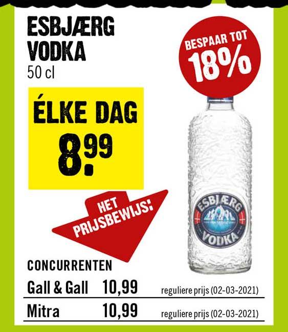 Dirck III Esbjærg Vodka