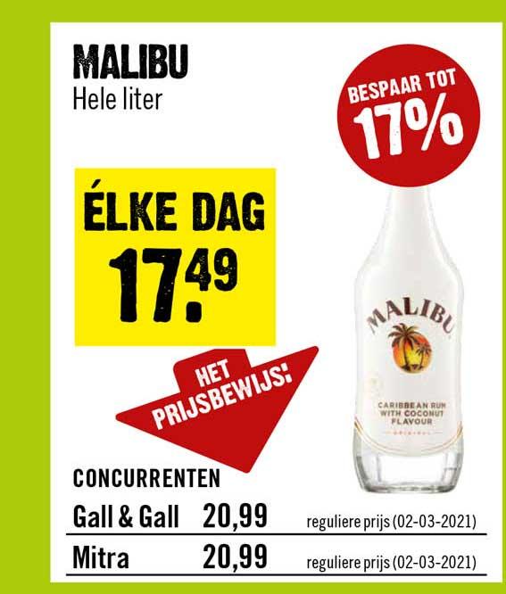 Dirck III Malibu Coconut