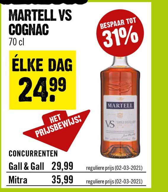 Dirck III Martell VS Cognac