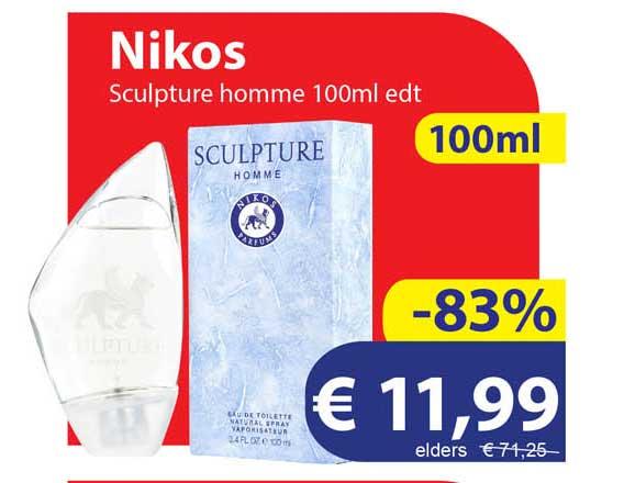 Die Grenze Nikos Sculpture Homme 100ml Edt