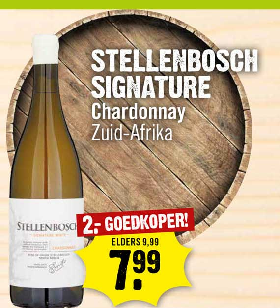 Dirck III Stellenbosch Signature Chardonnay