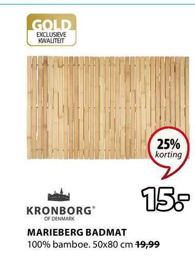 Jysk Marieberg Badmat 25% Korting