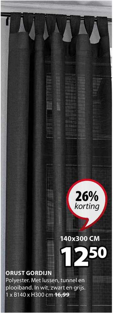 Jysk Orust Gordijn 26% Korting
