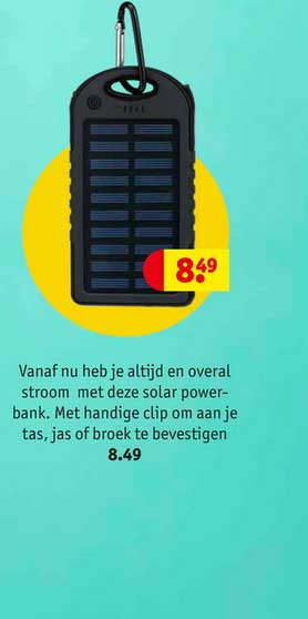 Kruidvat Solar Powerbank