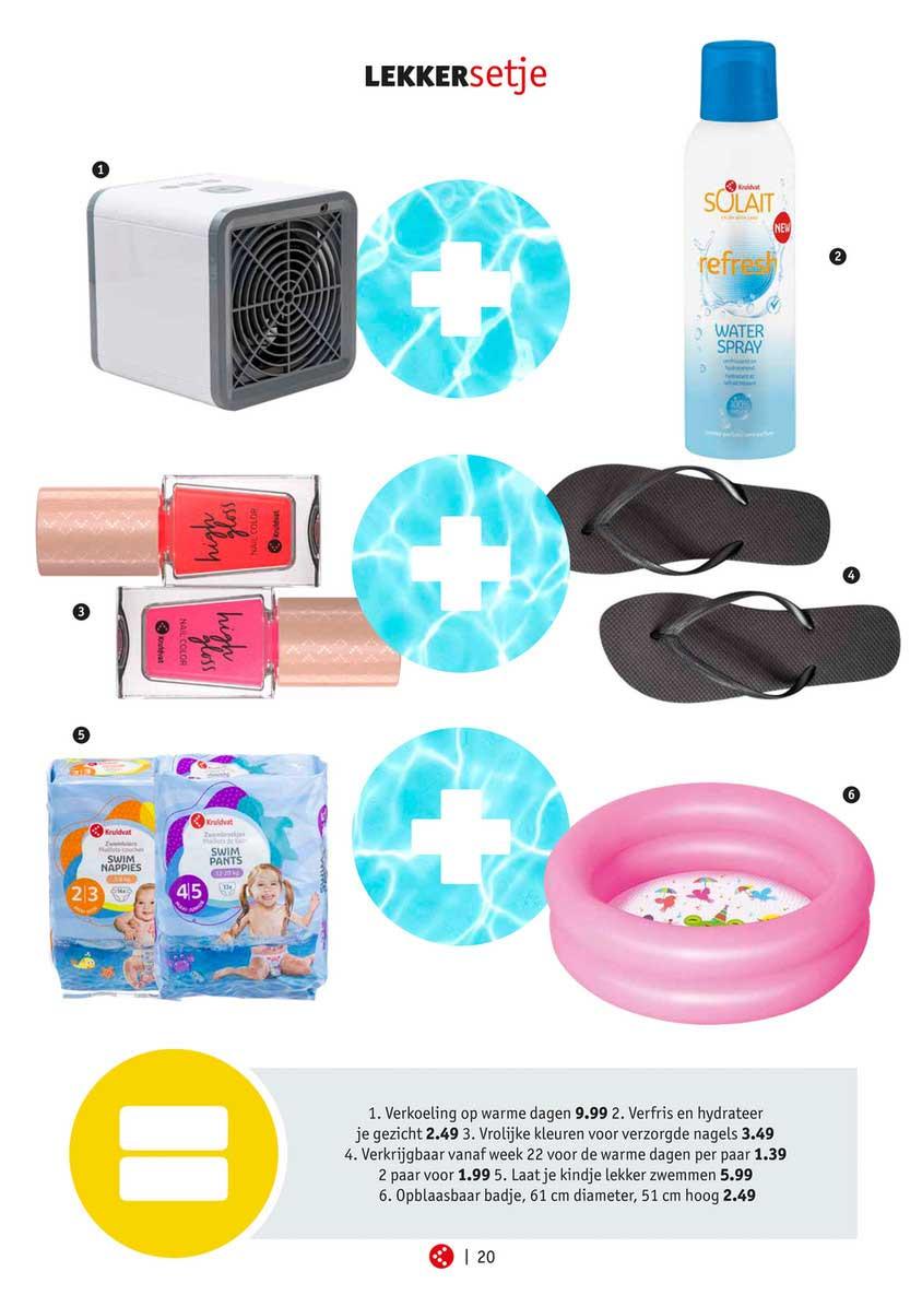 Kruidvat Verkoeling Op Warme Dagen, Verfris En Hydrateer Je Gezicht, Vrolijke Kleuren Voor Verzorgde Nagels Of Opblaasbaar Badje