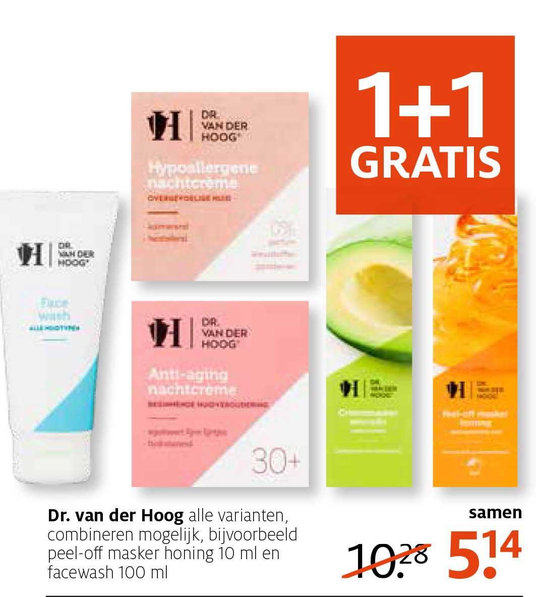 Etos Dr. Van Der Hoog: 1+1 Gratis