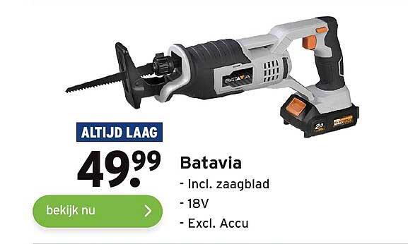 Gamma Batavia Incl. Zaagblad