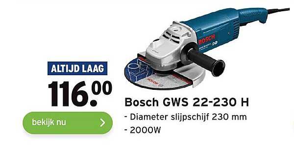 Gamma Bosch GWS 22-230 H