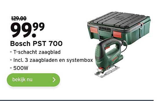 Gamma Bosch PST 700 T-Schacht Zaagblad