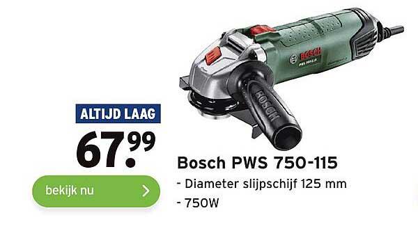 Gamma Bosch PWS 750-115