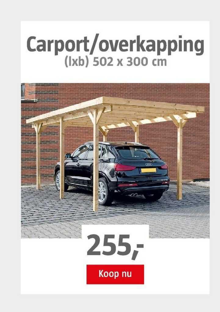 BAUHAUS Carport-Overkapping 502 X 300 Cm