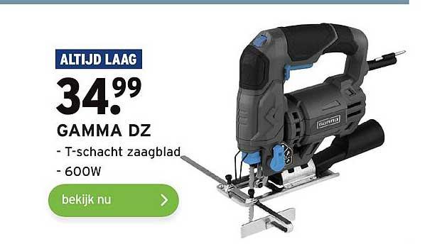 Gamma Gamma DZ T-Schacht Zaagblad