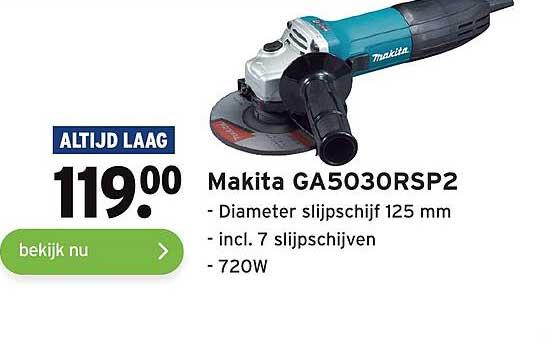Gamma Makita GA5030RSP2