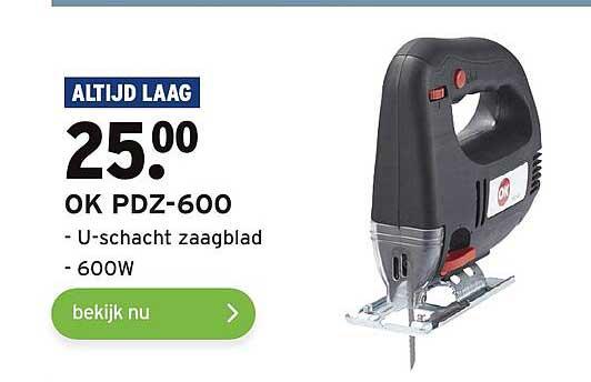 Gamma OK PDZ-600 U-Schacht Zaagblad