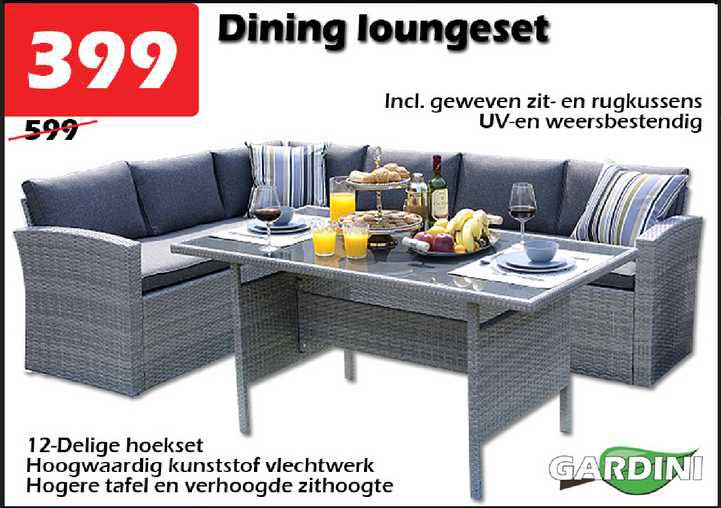 ITEK Dining Loungeset