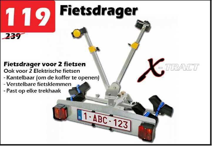 ITEK Fietsdrager