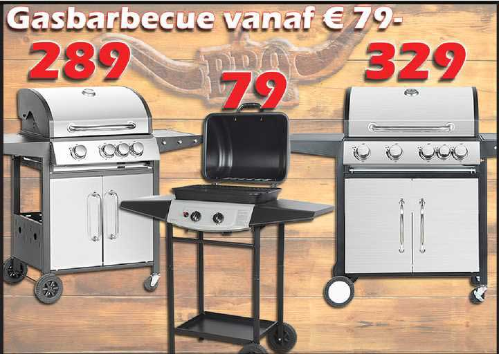 ITEK Gasbarbecue