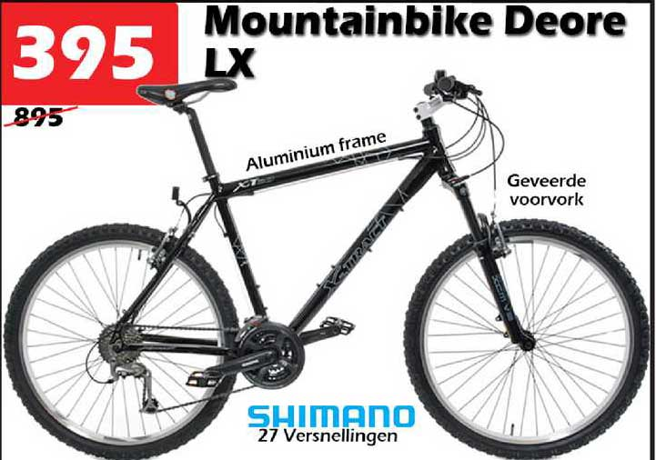ITEK Mountainbike Deore LX