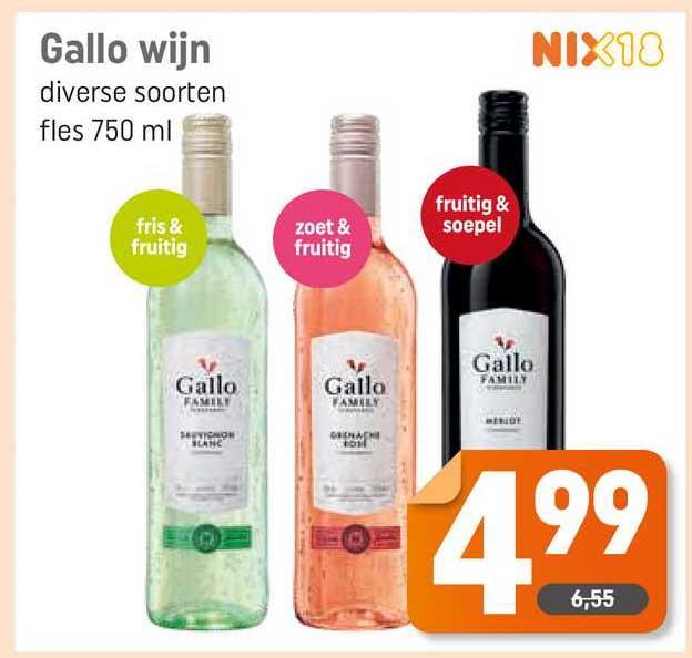 Dagwinkel Gallo Wijn