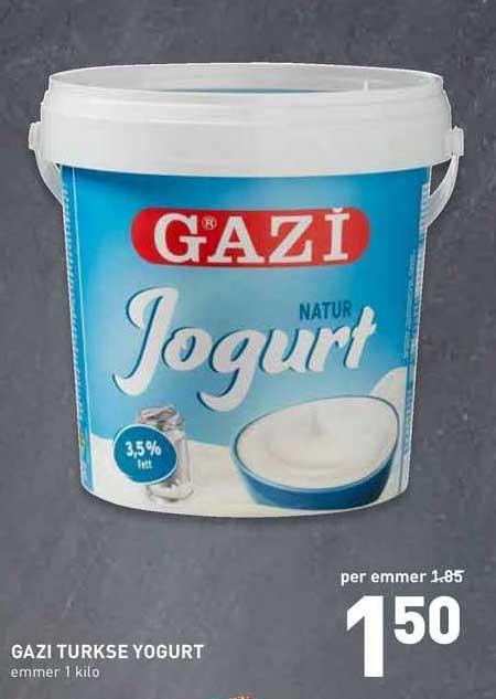 De Kweker Gazi Turkse Yogurt