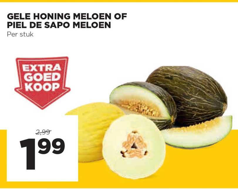 Jumbo Gele Honing Meloen Of Piel De Sapo Meloen
