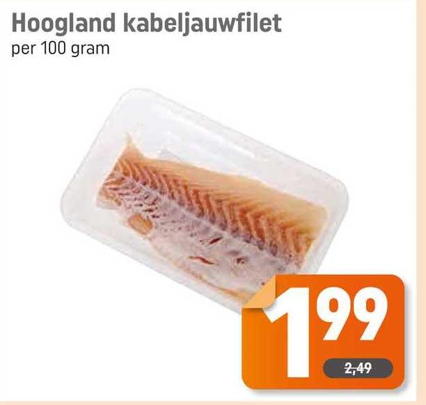 Dagwinkel Hoogland Kabeljauwfilet