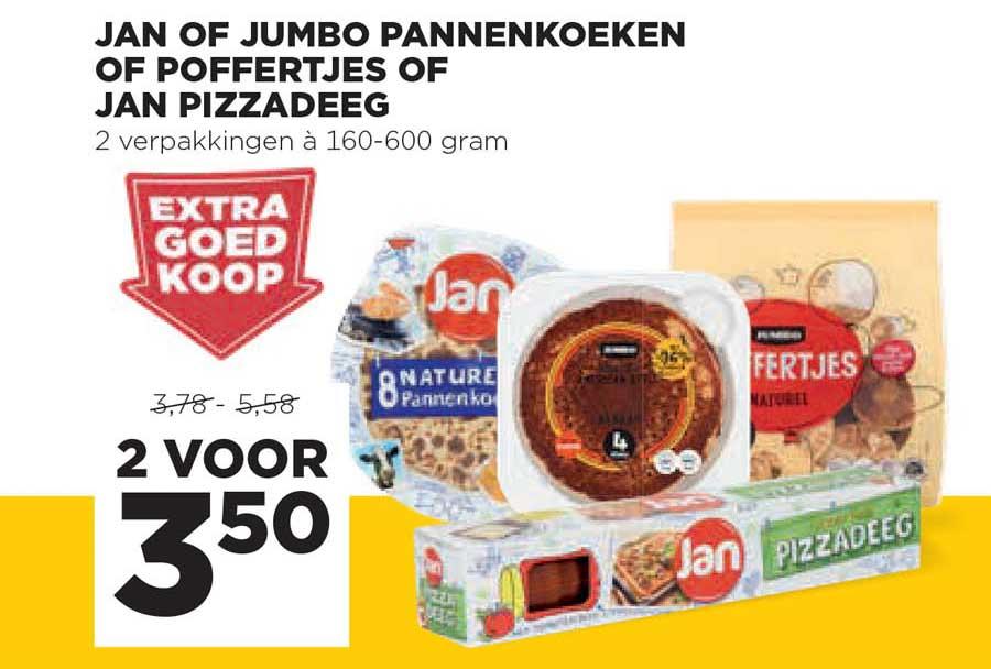 Jumbo Jan Of Jumbo Pannenkoeken Of Poffertjes Of Jan Pizzadeeg