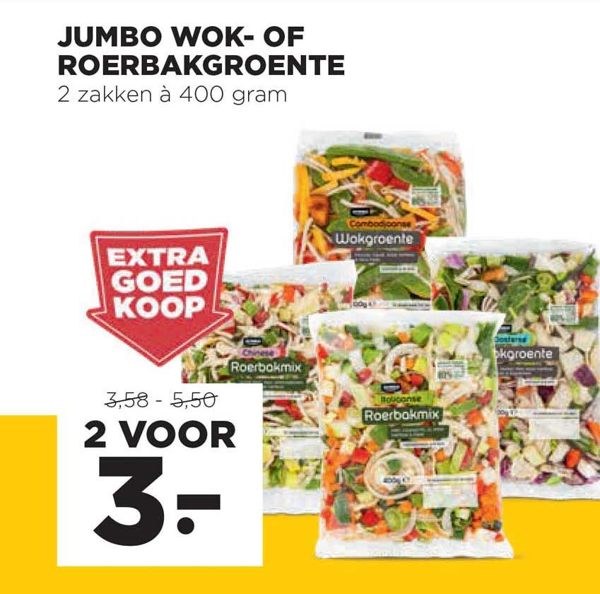 Jumbo Jumbo Wok- Of Roerbakgroente
