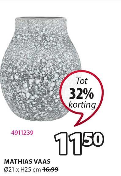 Jysk Mathias Vaas Ø21 X H25 Cm Tot 32% Korting