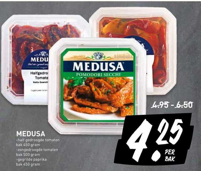 De Kweker Medusa Half Gedroogde Tomaten, Zongedroogde Tomaten Of Gegrilde Paprika