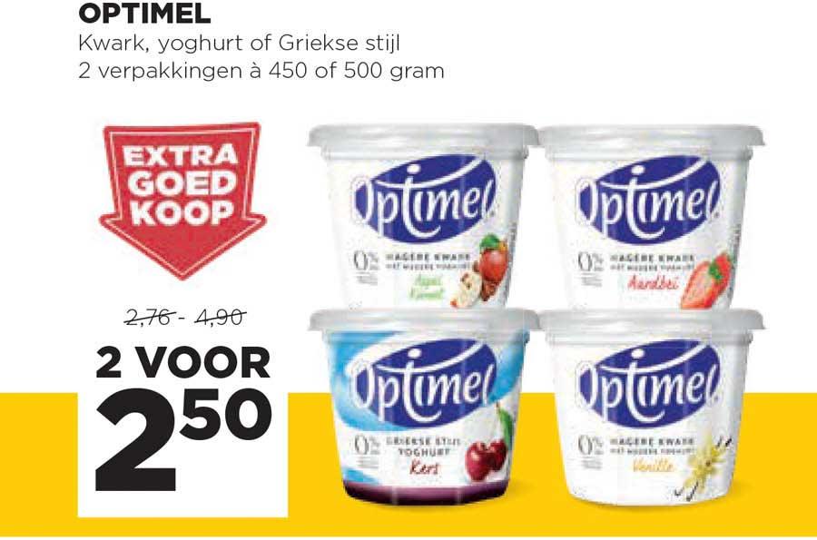 Jumbo Optimel Kwark, Yoghurt Of Griekse Stijl