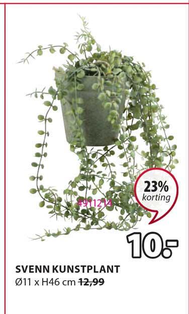 Jysk Svenn Kunstplant 23% Korting