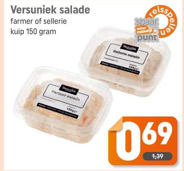 Dagwinkel Versuniek Salade Farmer Of Sellerie