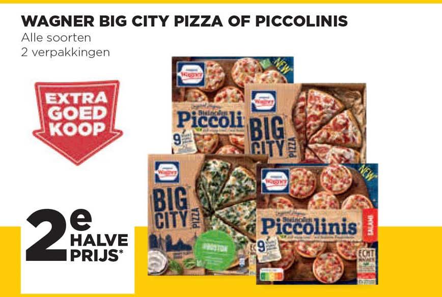 Jumbo Wagner Big City Pizza Of Piccolinis