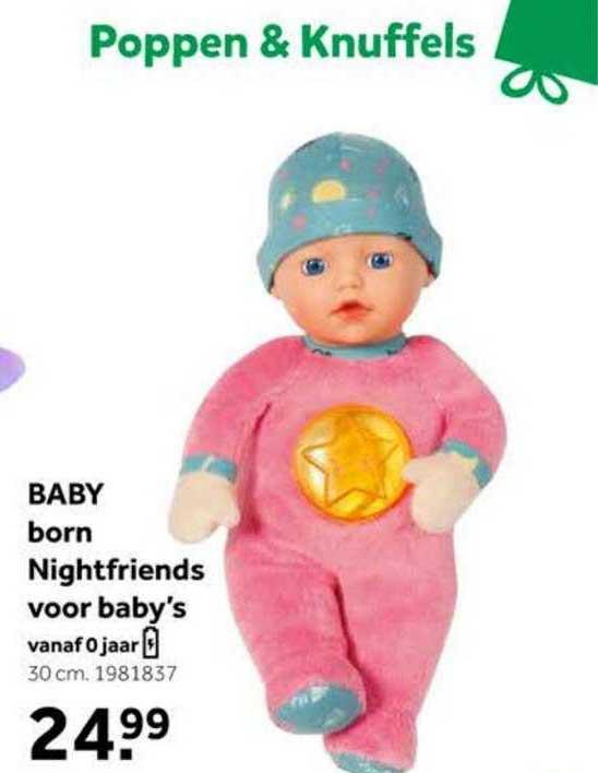 Baby Born Nightfriends Voor Baby's Speelgoed Aanbieding bij