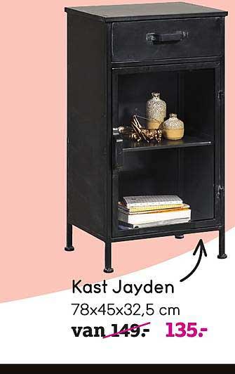 Kast Jayden 78x45x32 5 Cm Aanbieding Bij Leen Bakker Bekijk en reserveer jouw kast direct online. kast jayden 78x45x32 5 cm aanbieding