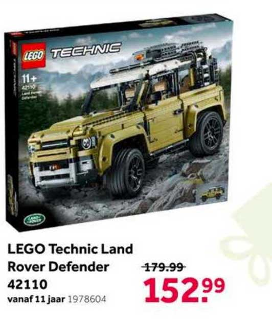 Intertoys Lego Technic Land Rover Defender 42110 Speelgoed