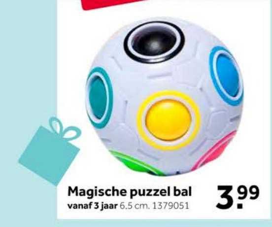 Intertoys Magische Puzzel Bal Speelgoed