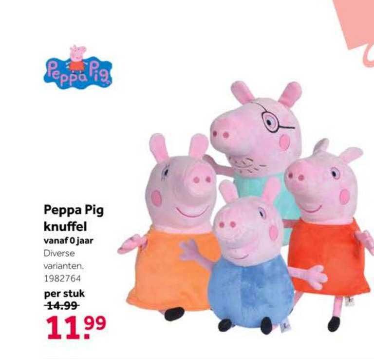 Intertoys Peppa Pig Knuffel Speelgoed