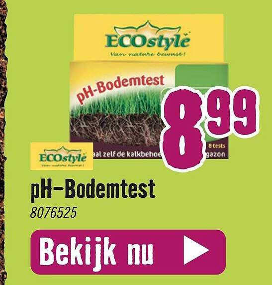 Hornbach Ecostyle PH-Bodemtest