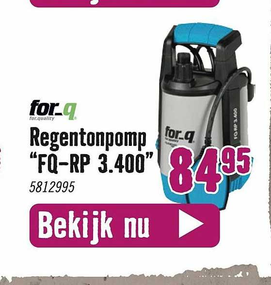 Hornbach For_q Regentonpomp
