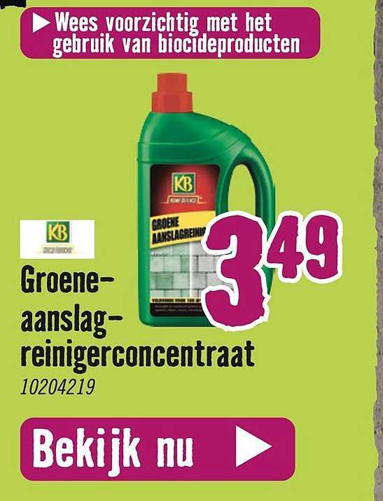 Hornbach KB Groene Aanslagreinigerconcentraat